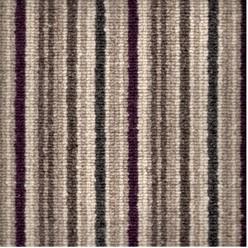 Spectrum stripe, colour Eggplant.