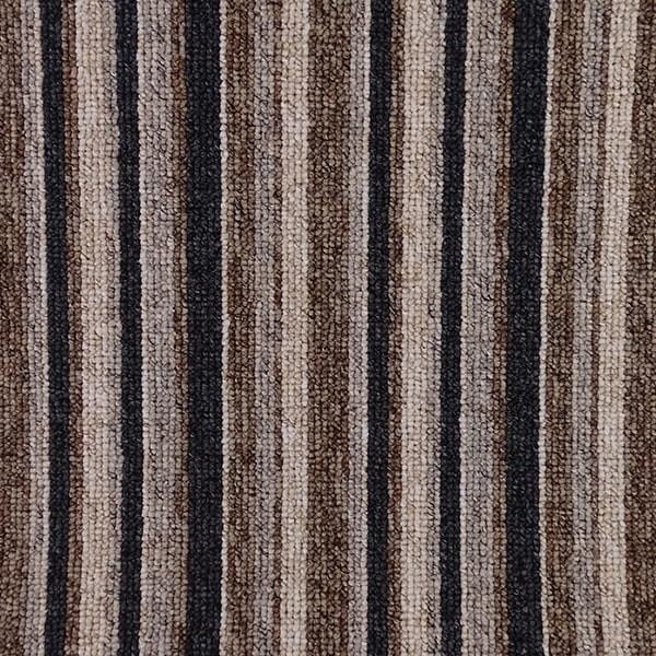 Gala Stripe, colour Brown.